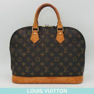 Auth Louis Vuitton Monogram Alma bag M51130